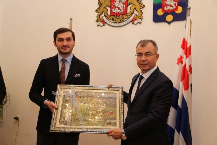 Artvin, Trabzon ve Ardahan Valileri Batum'da