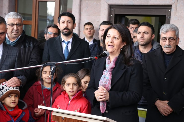 HDP Eş Genel Başkanı Buldan Iğdır'da