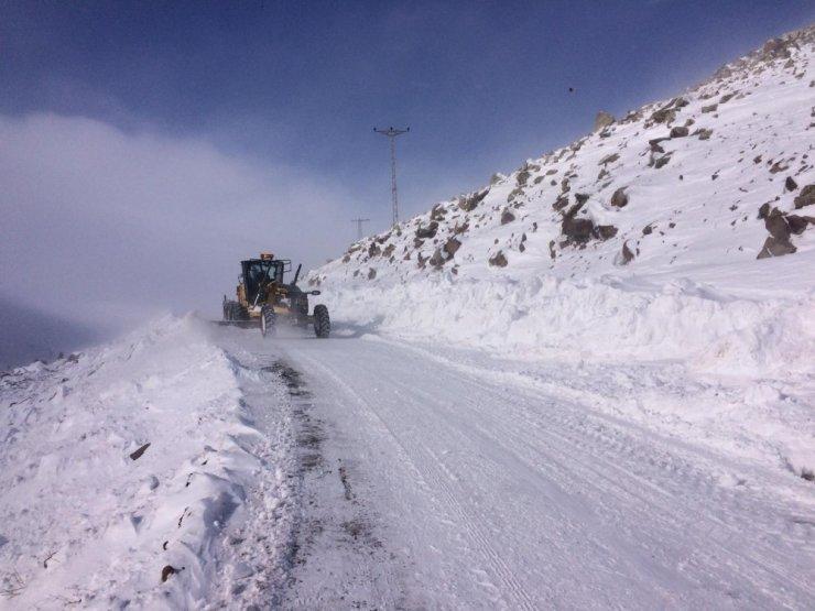 Iğdır'da Köy Yolları Kapandı