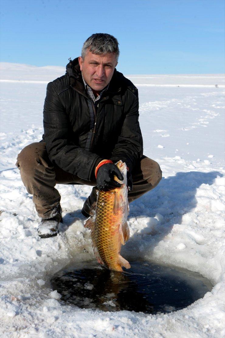 Çıldır'da Sezonun En Büyük Balığı Yakalandı
