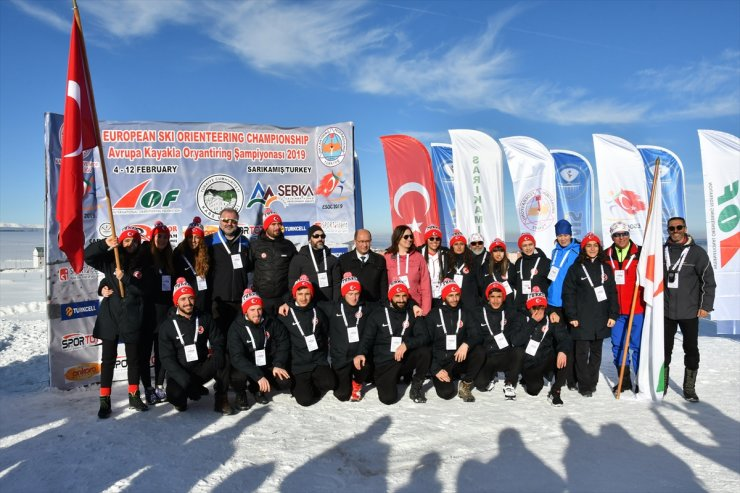 'Kayaklı Oryantiring' Şampiyonası Başladı