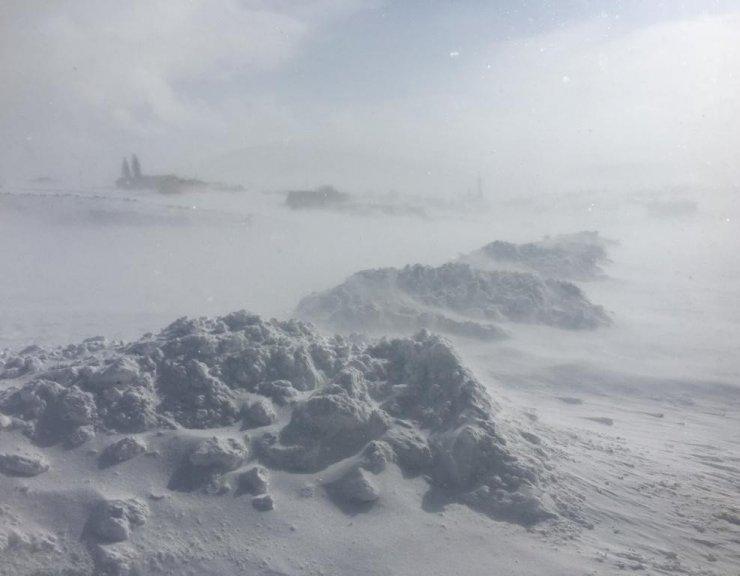 Kars-Göle Yolunda Ulaşıma Tipi Engeli