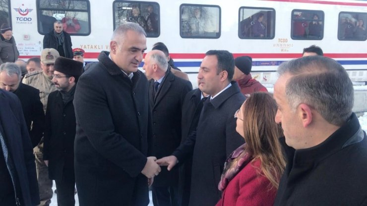 Kültür ve Turizm Bakanı Ersoy Kars'ta
