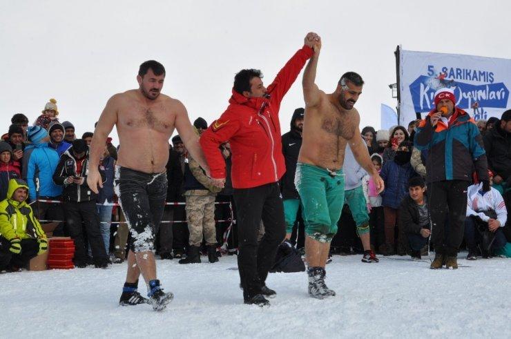 Sarıkamış'ta Kış Festivali Başladı