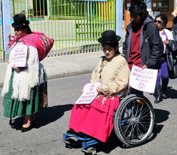 'Kadınlar Günü'nden Renkli Kareler