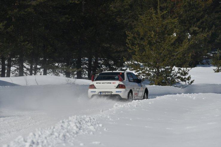 Sarıkamış 'Kar Rallisi' Tamamlandı