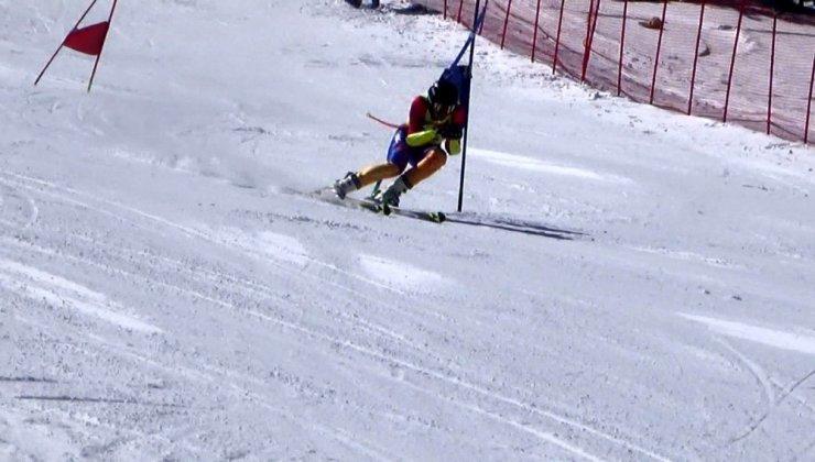 Sarıkamış'ta 'Kayak Yarışları' Başladı