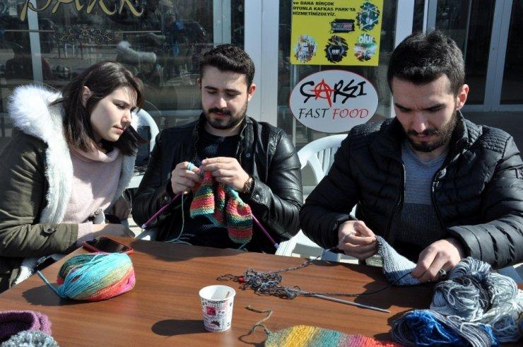 KAÜ'lü Öğrencilerin 'Örgülü Projesi'