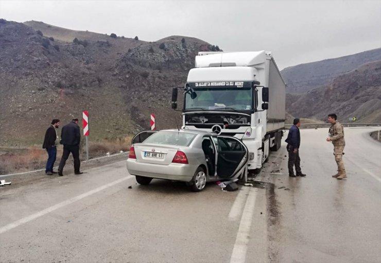 Sarıkamış'ta Trafik Kazası: 1 Ölü