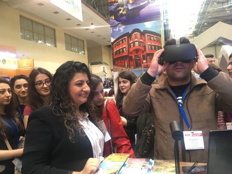 SERKA, Bakü'de 'Turizm Fuarı'na Katıldı