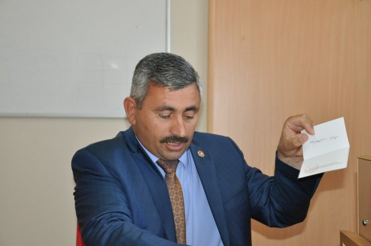 Kars İl Genel Meclisi Başkanı Seçildi