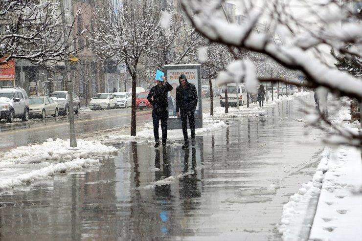 Bölge İllerinde Kar Sürprizi