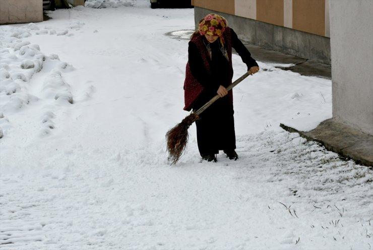 Bölgede Kar Yağışı Etkili Oldu