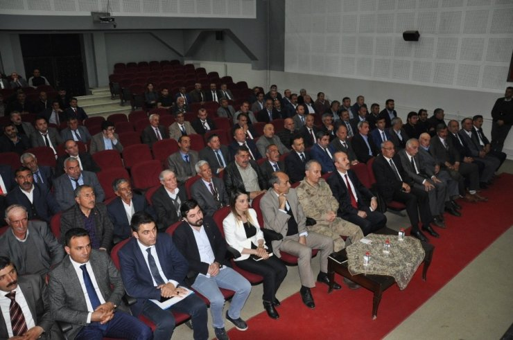 Kars'ta KÖYDES ve Muhtarlar Toplantısı