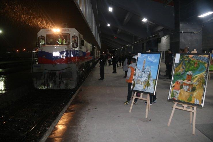 Doğu Ekspresi Yolcularına Resim Sergisi