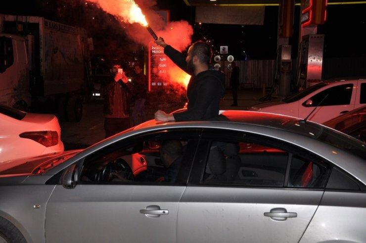 Kars'ta Galatasaray Coşkusu