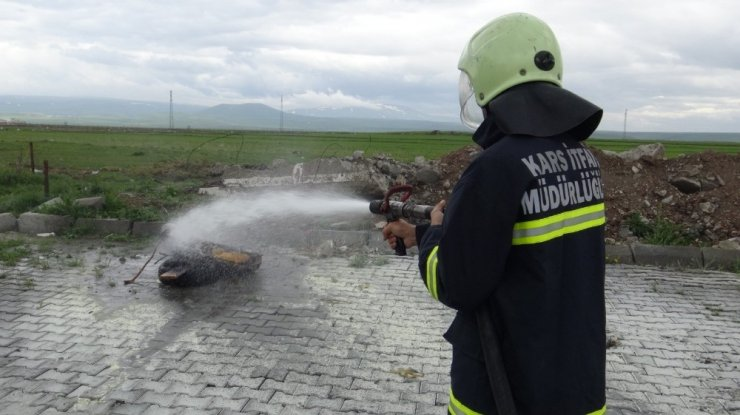 Yangın Tatbikatı Gerçeği Aratmadı
