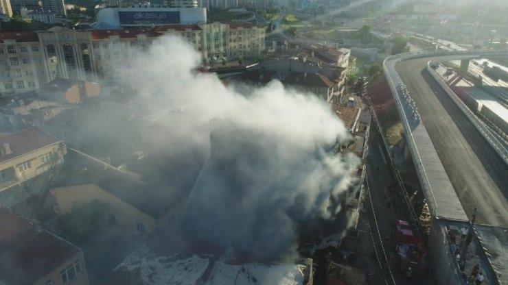 Kadıköy Fikirtepe'de Yangın