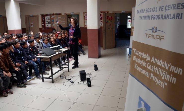 Öğrencilere 'Bölgenin Biyoçeşitliliği' Anlatıldı