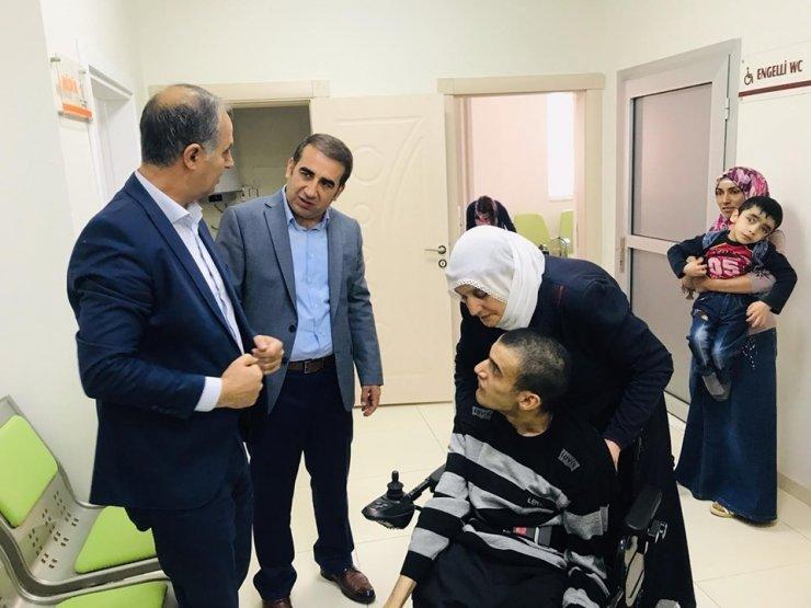 Engellilere 'Tekerlekli Sandalye' Dağıtıldı