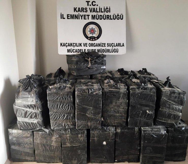 Kars'ta Kaçak Sigara Operasyonu