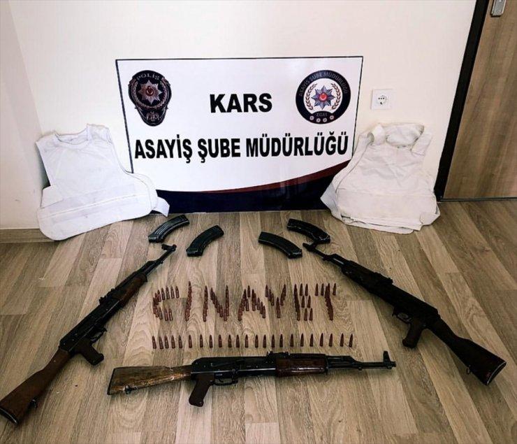Polis Uzun Namlulu Silah Ele Geçirdi