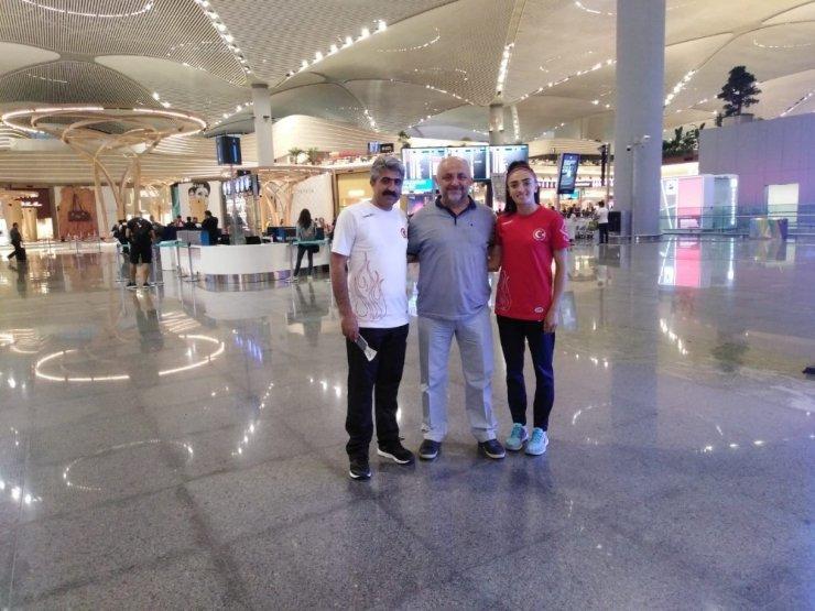Karslı Atlet Romanya'da Türkiye'yi Temsil Edecek