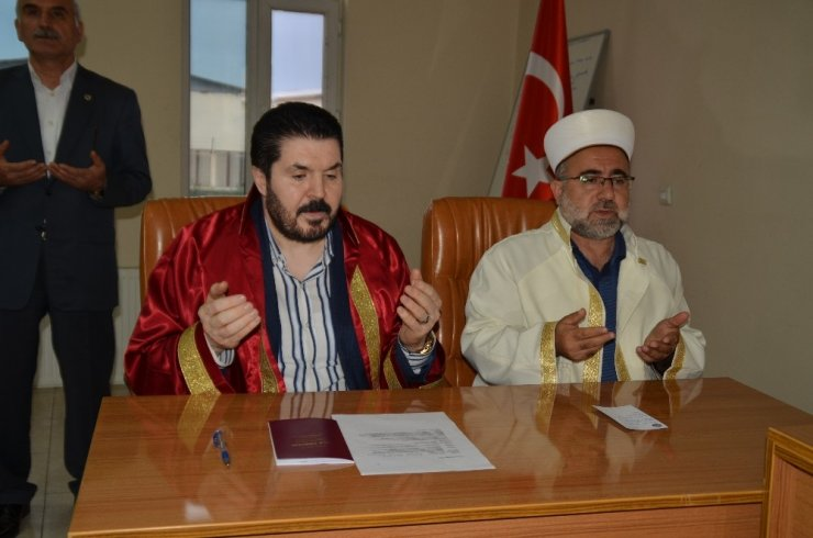 Ağrı'da Dini ve Resmi Nikah Birlikte Kıyılacak