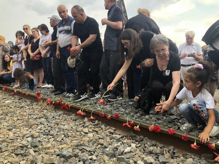 'Çorlu'daki Tren Kazası'nda Ölenler Anıldı