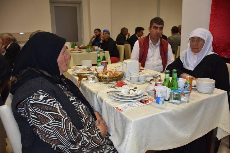 'Şehit Aileleri ve Gaziler' Onuruna Yemek