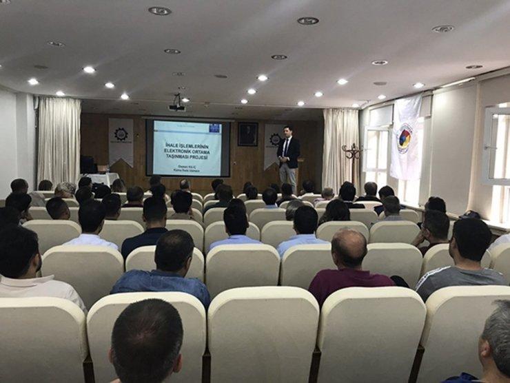 KATSO'da Elektronik İhale Eğitimi Düzenlendi