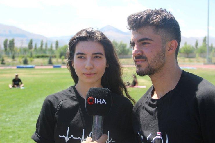 Curling Milli Takımı Erzurum'da Kamp Yapıyor