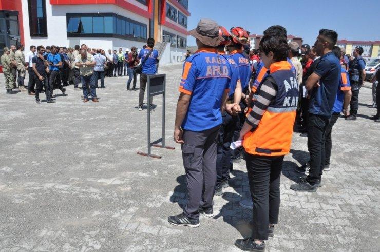 Kars'ta 'İntikal ve Toplanma' Tatbikatı