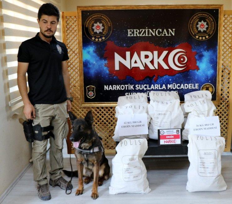Erzincan'da Narkotik Operasyonu