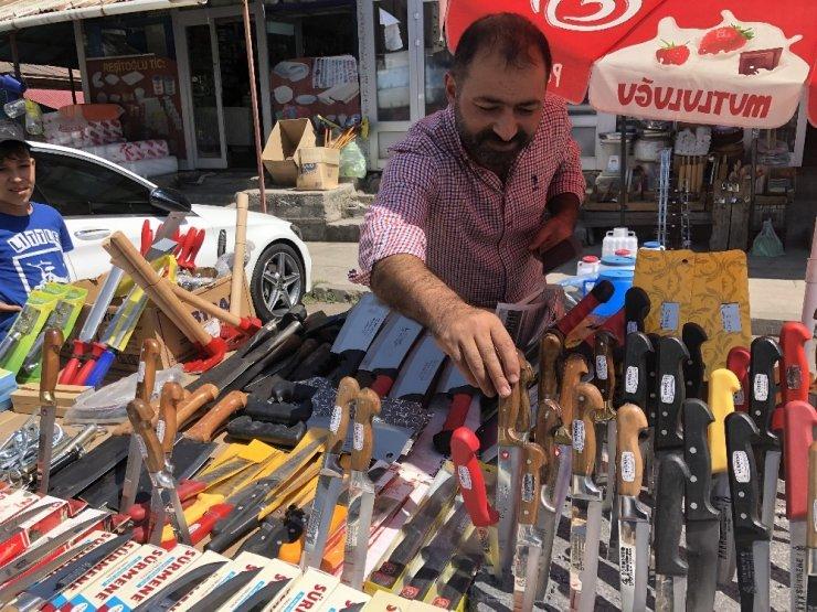 Kurban Bayramı 'Bıçakçıları' Sevindirdi