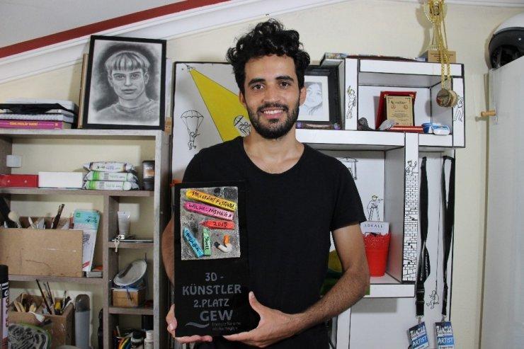 '3D Sokak Sanatçısı'ndan Uluslararası Başarı