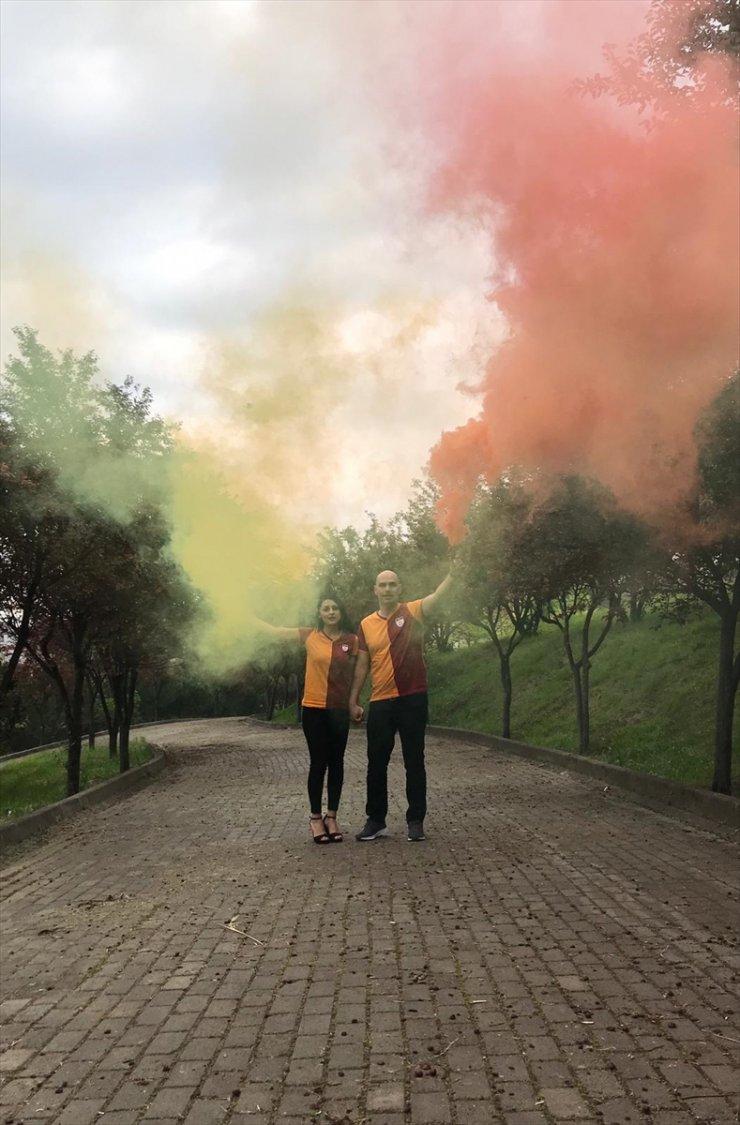 'Galatasaraylı Taraftar'ın Sıradışı Nikahı