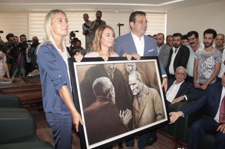 Ekrem İmamoğlu Diyarbakır'da