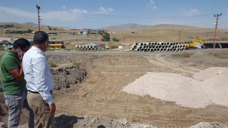 Digor'da Alt Yapı Çalışmaları Sürüyor