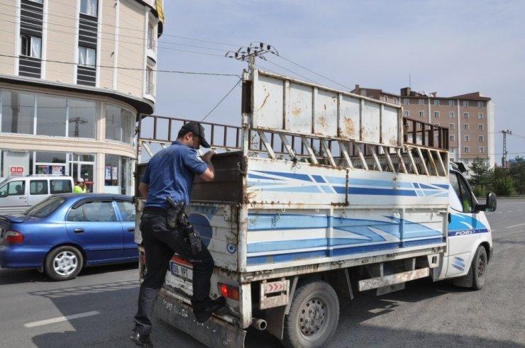 Kars'ta Trafik ve Asayiş Uygulamaları