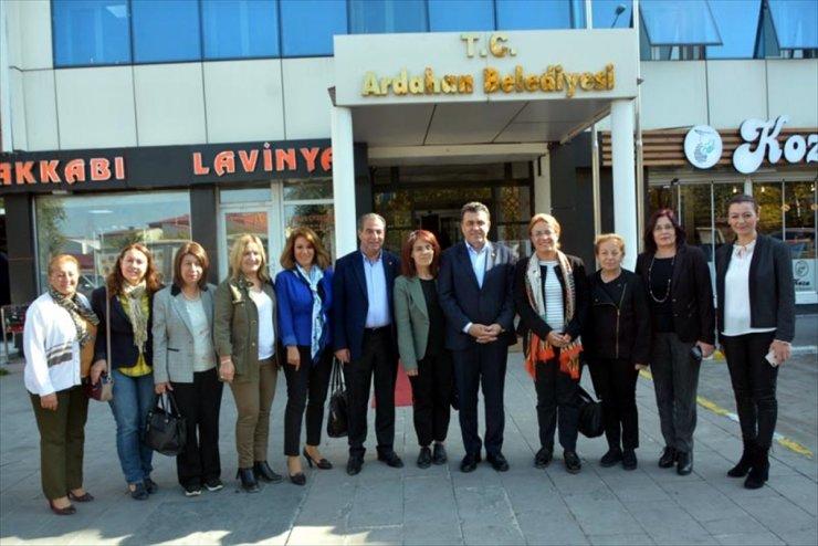 CHP Kadın Kolları Başkanı Ardahan'da