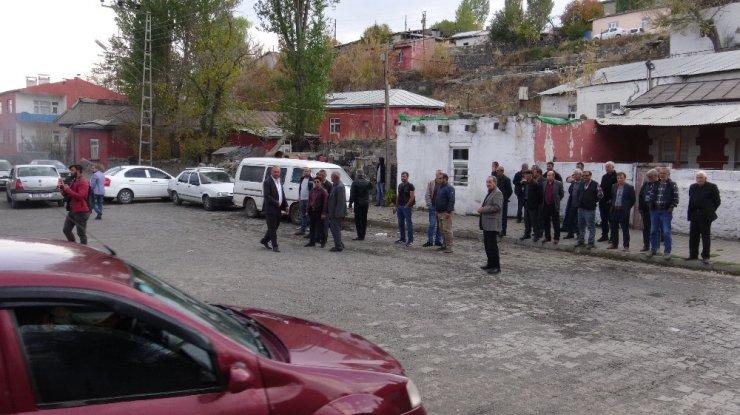 Kars'ta Yol Kapatma Eylemi