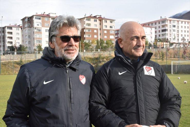 Erzurum'da UEFA B Antrenörlük Kursu