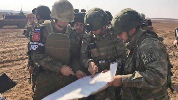 İlk Türk-Rus Ortak Devriyesi Tamamlandı