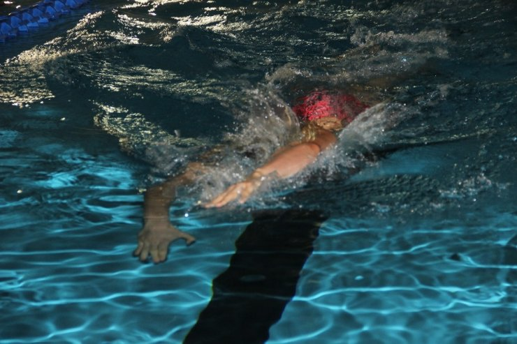 Hollandalı Milli Yüzücüler, Erzurum'da