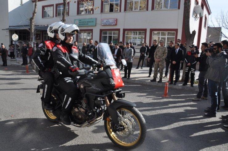 Kars'ta 'Motosikletli Polis Tim'i Oluşturuldu