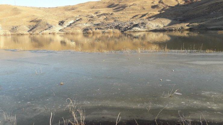 Kars Çayı Kısmen Buz Tuttu