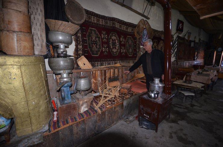 Samanlığı 'Kültür Evi'ne Dönüştürdü