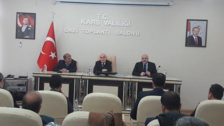 İçişleri Bakan Yardımcısı Erdil Kars'ta