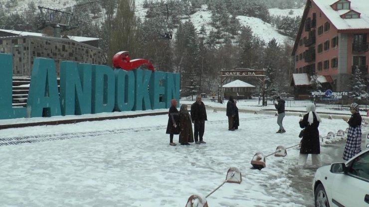 Palandöken'de Kar Coşkusu